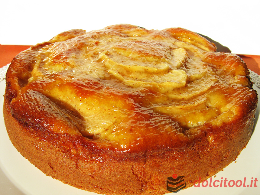 torta di mele profumata